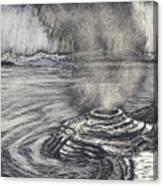 Yellowstone Lake Canvas Print