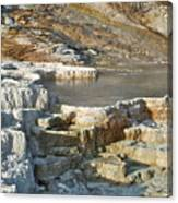 Yellowstone Mineral Features 3 Canvas Print
