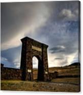 Yellowstone North Gate Canvas Print