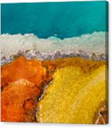 Yellowstone Pool Canvas Print