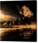 Yellowstone River Sunrise Canvas Print