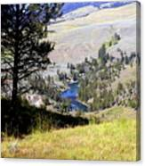 Yellowstone River Vista Canvas Print