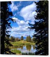 Yellowstone Sky Canvas Print