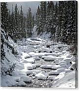 Yellowstone -  Soda Butte Creek Canvas Print