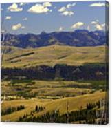Yellowstone Vista 2 Canvas Print