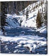 Yellowstone Winter One Canvas Print