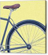 Yelow Bike Canvas Print
