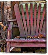 Yesterday's Chair Canvas Print