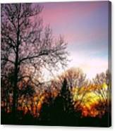 Yesterday's Sky Canvas Print