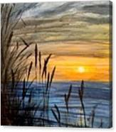 Yet Another Sunset Canvas Print