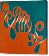 Yin And Yang, No. 3 Canvas Print