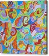 Yin And Yang 6 Canvas Print