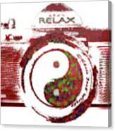 Yin Yang Photo Can Canvas Print