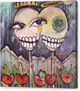 Yo Soy La Luna Canvas Print