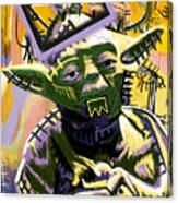 Yoda 1981 Canvas Print