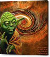 Yoda-no Fear Canvas Print