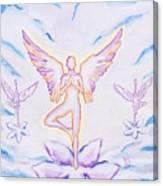 Yoga Angels  Canvas Print