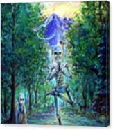 Yoga Tree Canvas Print