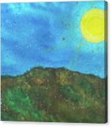 Yokun Ridge Canvas Print