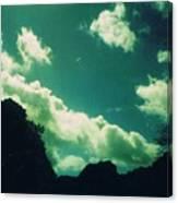 Yon Sky Canvas Print
