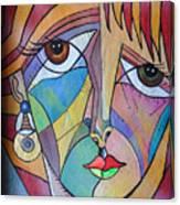 Yondra Canvas Print
