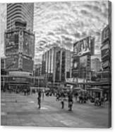 Yonge-dundas Square Canvas Print