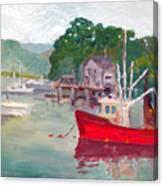 York Harbor Canvas Print