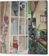 York Window Canvas Print