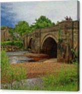 Yorkshire Bridge - P4a16015 Canvas Print
