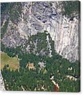 Yosemite Aerial View - California Canvas Print