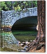 Yosemite Creek Canvas Print