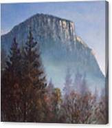 Yosemite Dawn Detail Canvas Print