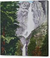 Yosemite Falls 1 Canvas Print
