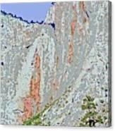 Yosemite Falls Drought Canvas Print