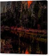 Yosemite Firefall 2015 Canvas Print