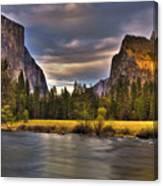 Yosemite- Gates Of The Valley Canvas Print