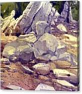 Yosemite Granite Canvas Print