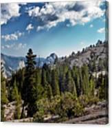 Yosemite Half Dome 0796 Canvas Print