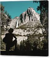 Yosemite Hiker Canvas Print