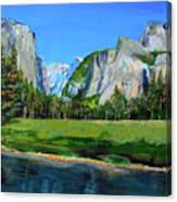 Yosemite National Park In The Spring Canvas Print