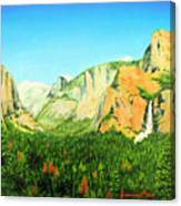 Yosemite National Park Canvas Print