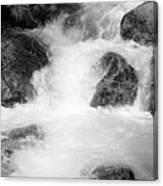 Yosemite Raging River Stream Canvas Print