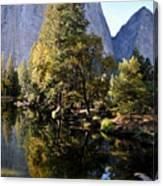 Yosemite Reflections 3 Canvas Print