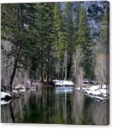 Yosemite Reflections Canvas Print