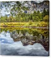 Yosemite Reflections Right Canvas Print