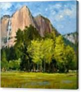 Yosemite - Ribbon Falls Canvas Print