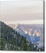 Yosemite Sunrise Canvas Print
