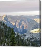 Yosemite Sunrise II Canvas Print