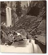 Yosemite: Vernal Fall Canvas Print