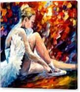 Young Ballerina Canvas Print